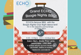 ECHO barbeque and boogie nights