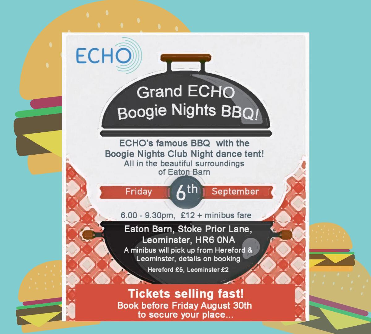 Boogie Nights BBQ - ECHO Herefordshire