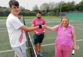 special olympics tennis tournament