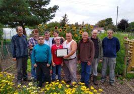 Eaton Barn Community Garden award 2019