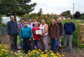 Eaton Barn Community Garden award 2019