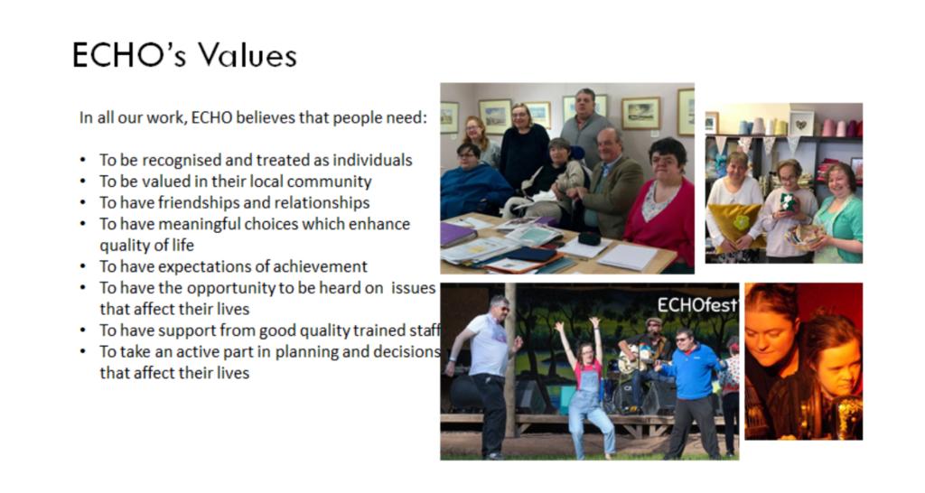 ECHO's values