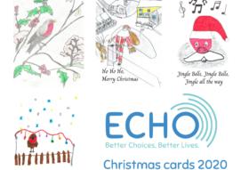 ECHO Christmas card designs 2020