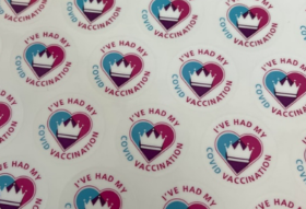 covid vaccination sticker
