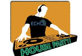 ECHO house party logo