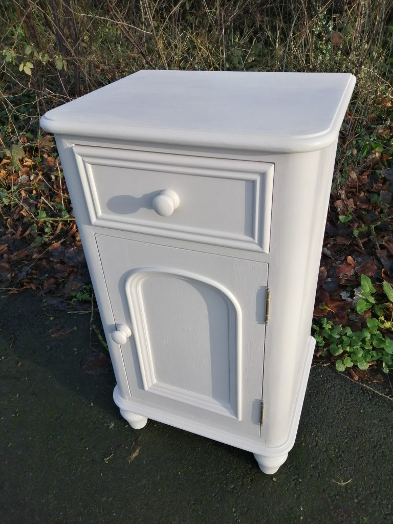 off white painted cupboard